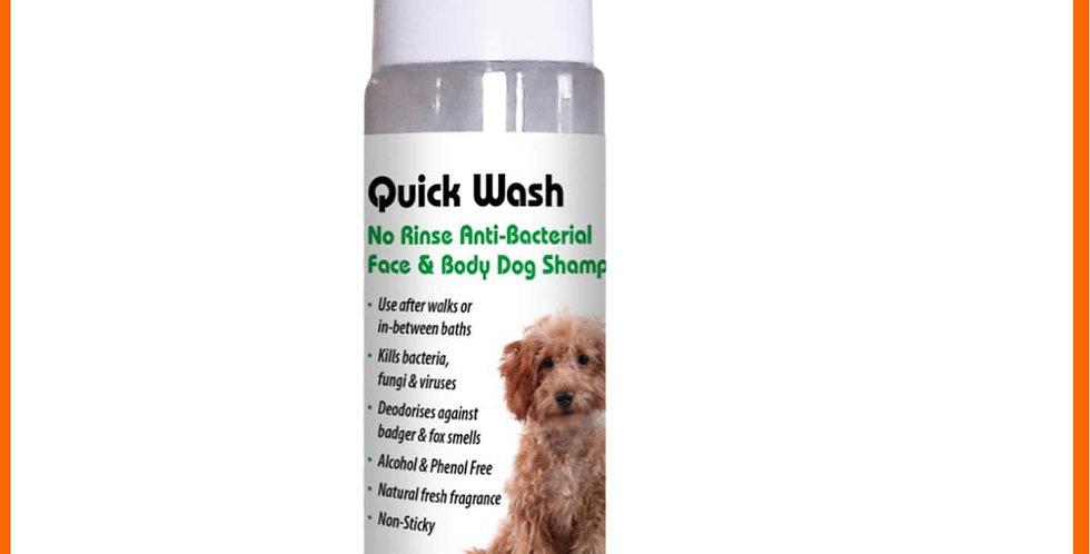 Aqueos Dog anti viral paw sanitiser in pump bottle sanitiser spray