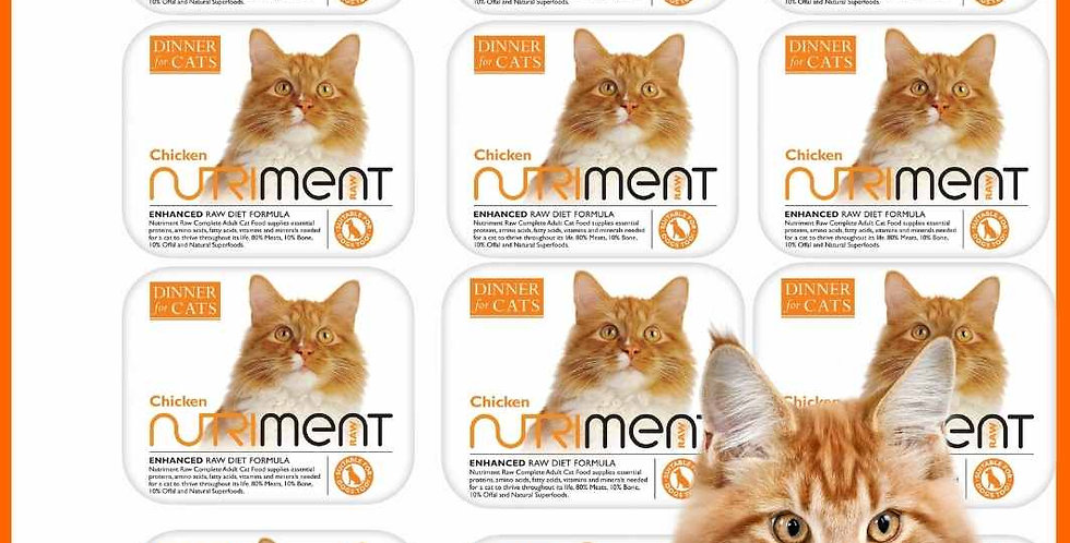 Chicken - Dinner for Cats Multipack x12