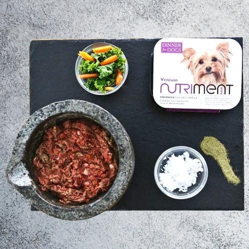 Nutriment Dinner for Dogs Venison 15 xTrays