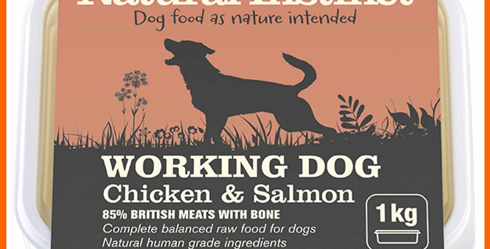 Natural Instinct Chicken and Salmon formula for dogs in 1kg pack