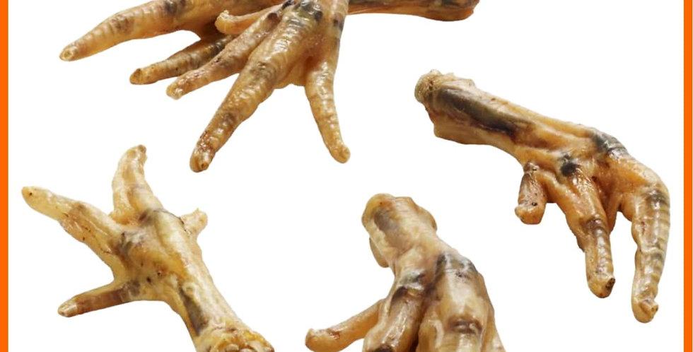 Natural Chicken Feet Pk4