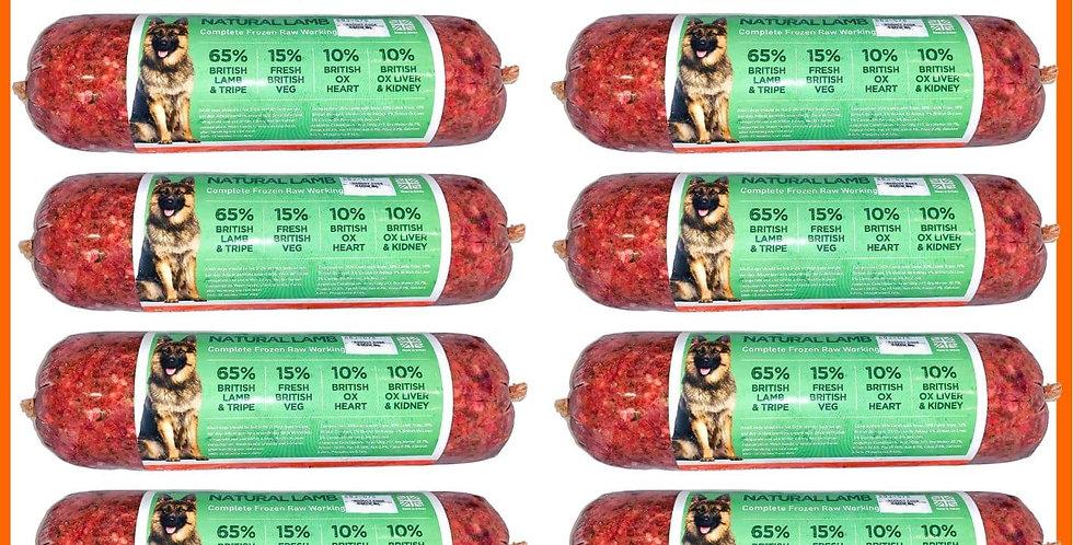 U4IA Raw Lamb Multipack 10kg 10 Chubbs set for Dog
