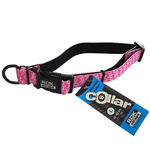 Rok Dog pink Head collar reflective strong