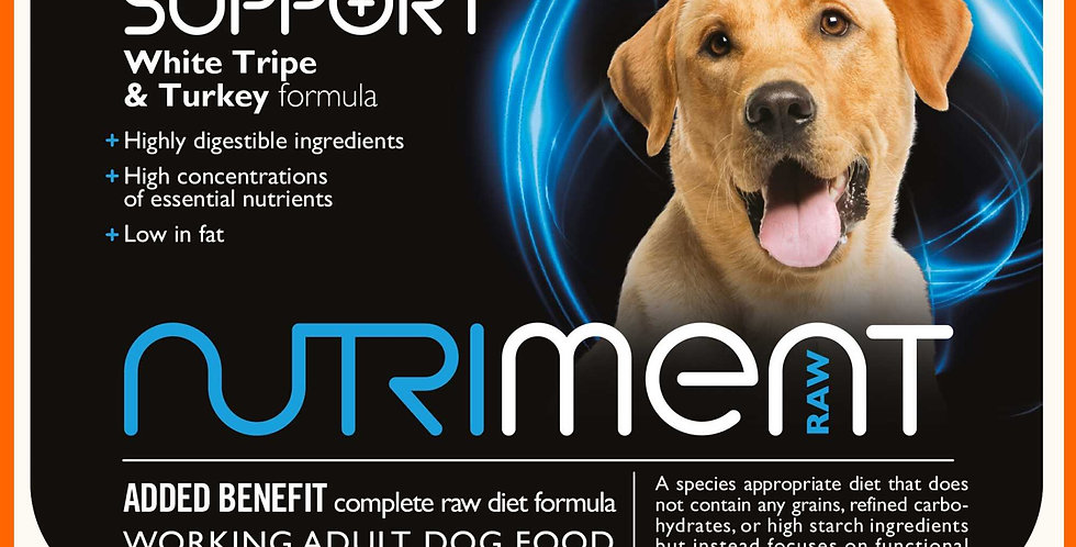 Nutriment light support for dogs in 500g tub