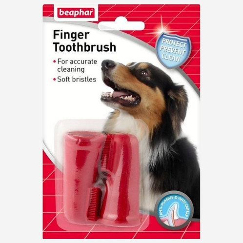 Beaphar - Dog Finger Toothbrush 2 Pack