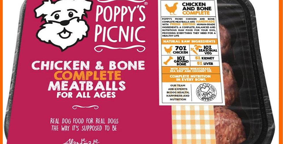 Poppy's Picnic - Chicken Meatballs 360g