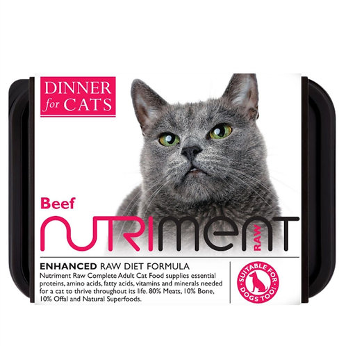 Dinner for cats by Nutriment raw cat food