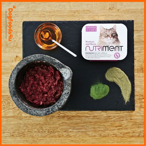 Nutriment Dinner For Cats- Venison and duck