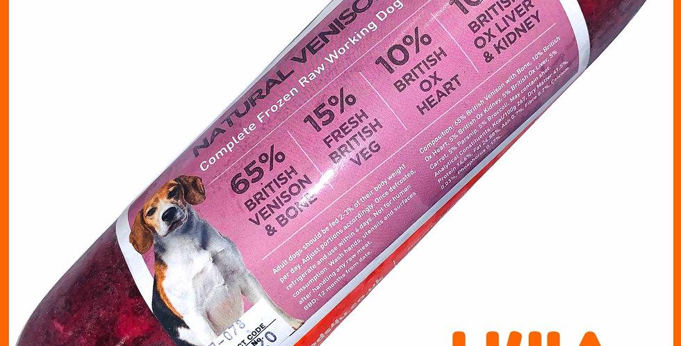 U4IA Natural Venison raw dog food formula 1kg