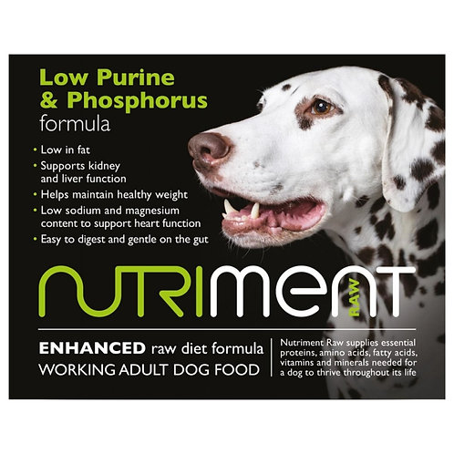 Nutriment low purine and phosphorus 500g tray in retail packaging