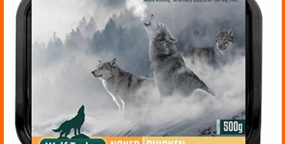 Wolf Tucker Naked Chicken 500g retail packaging
