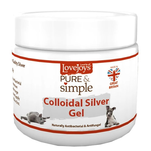 Lovejoys Collodial Silver gel for dogs