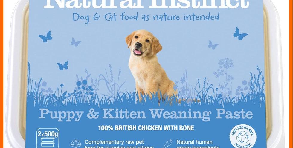 Natural Instinct - Puppy & Kitten Weaning Paste
