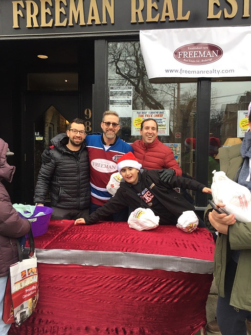 City Councillor Josh Matlow Joined in the Festivies