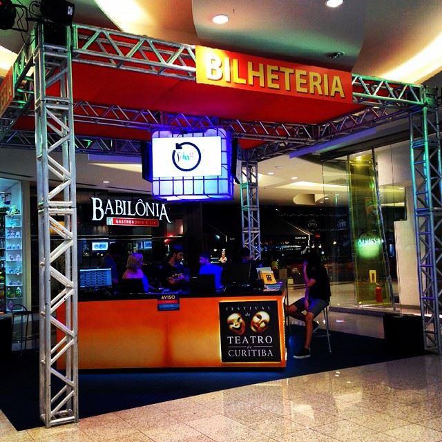 Bilheteria Festival de Teatro de Curitiba