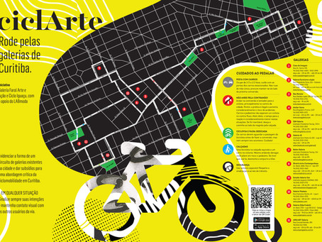 Circuito Cultural ciclARTE: rode pelas galerias de Curitiba!