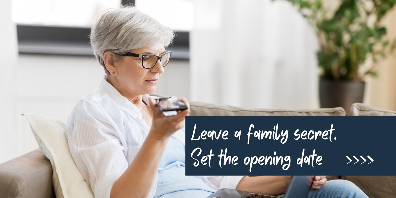 Leave a family secret