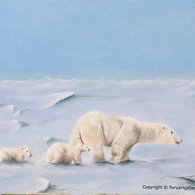 Polar bear- Sold