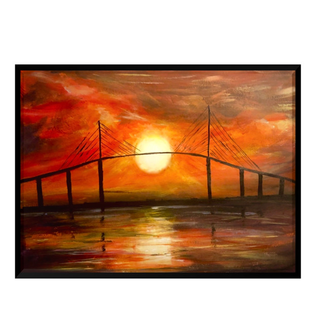 Sunset in St Pete-SOLD