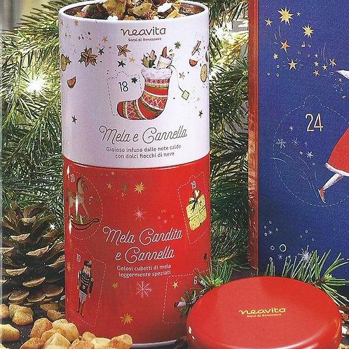 Cofanetto Duo Natale con infuso Mela e Cannella