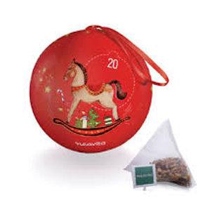 Palla Natale Rossa