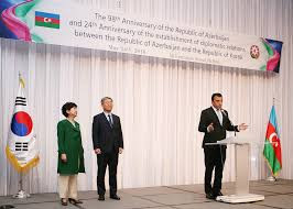 From the 98th Anniversary of the Republic of Azerbaijan and 24th Anniversary of the establishment of diplomatic relations between the Republic of Azerbaijan and Korea