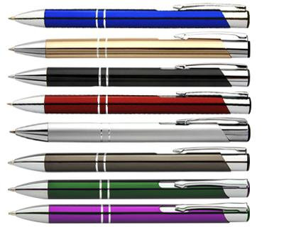 Printed metal pen