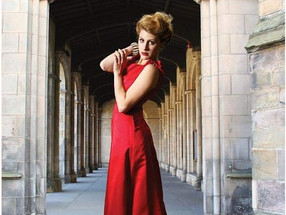 RED GOWN GIRL