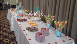 שבת חתן בר מצווה שולחן ממתקים