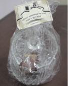 רעיון למזכרת לאורחים בשבת בר מצווה קערית זכוכית עם שוקולדים