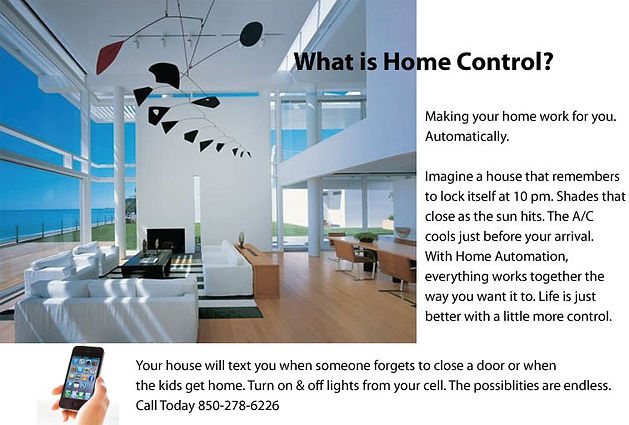 Automate your home for convenience, security and to SAVE Money!