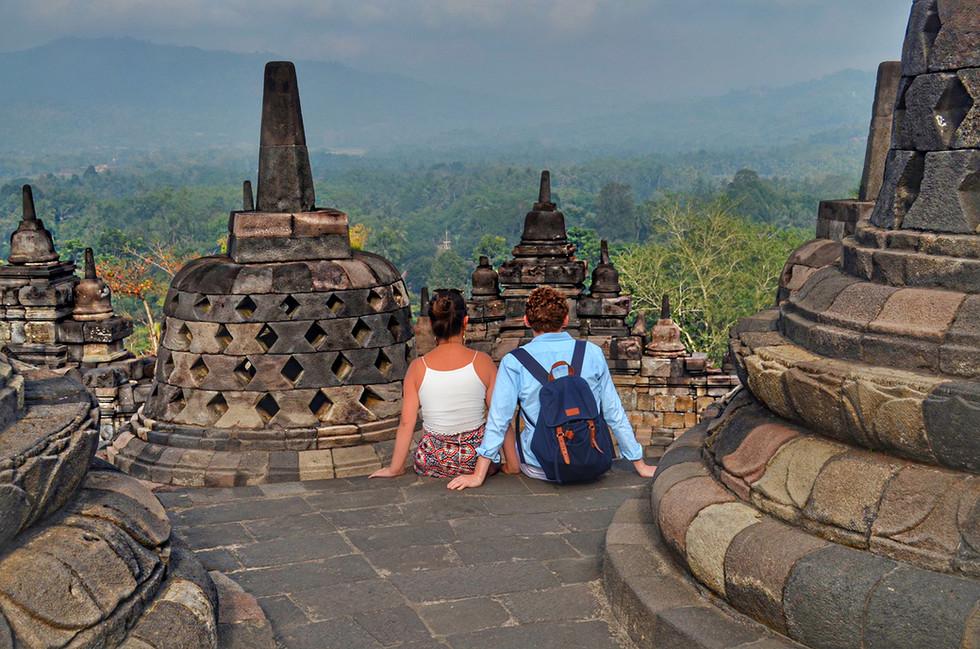 Borobudur Temple in Java, Indonesia  | Romantic Activity | Romantic Things To Do