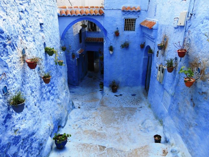 Chefchaouen, the blue town in Morocco's Rif mountains