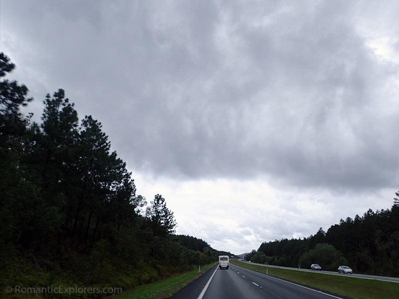 Rainy roadtrip to Fraser Island