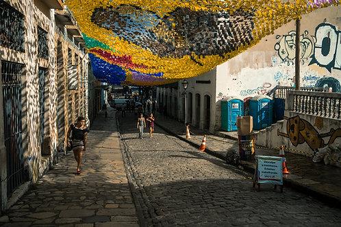 In the street of São Luís