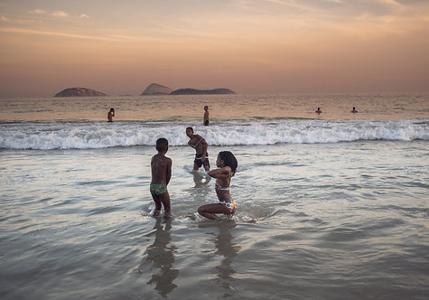 A sunset In Rio