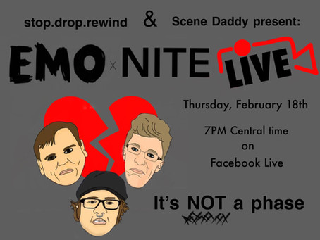 Lonely Hearts Emo Nite - Livestream 2/18!