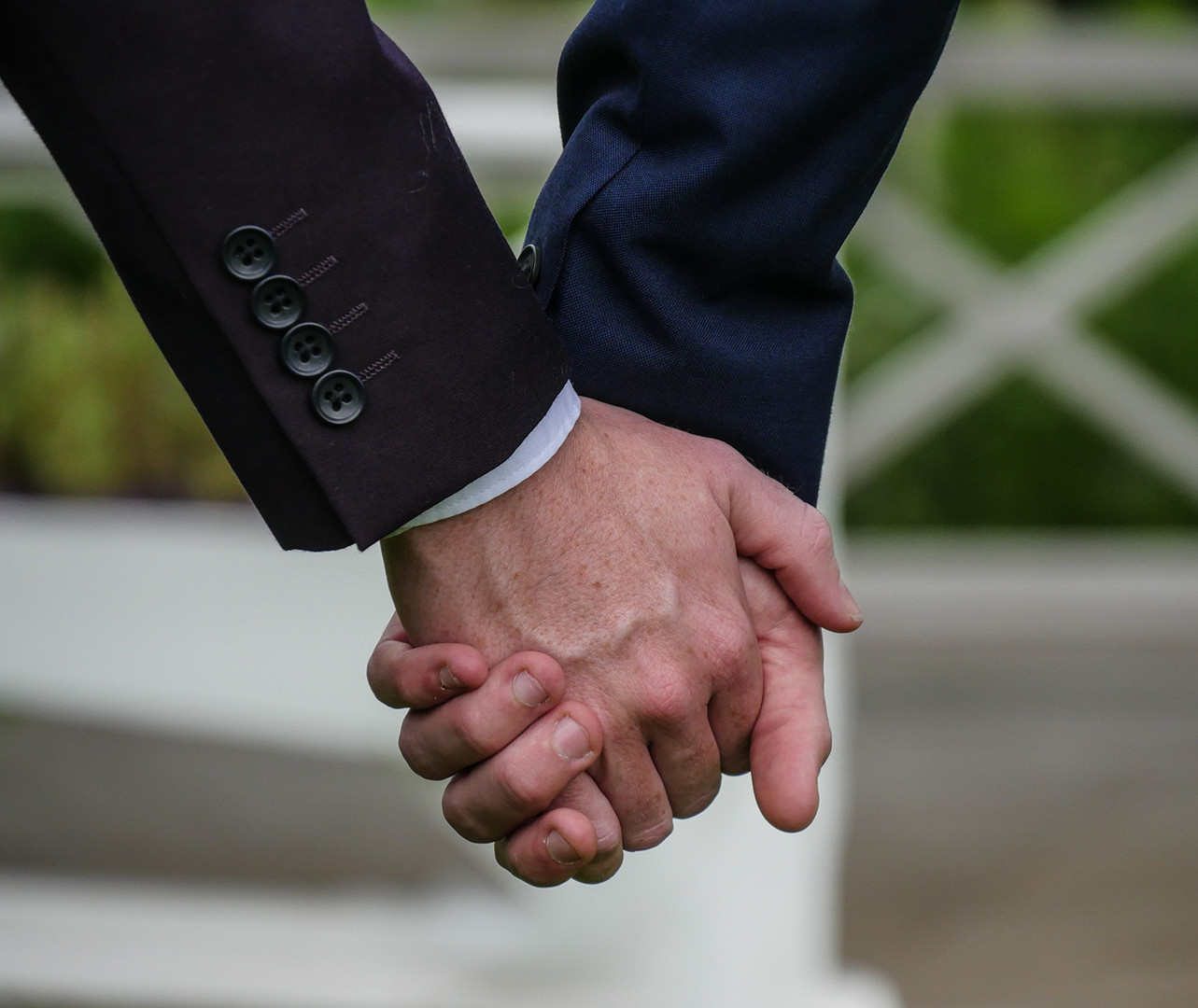 We welcome same-sex couples