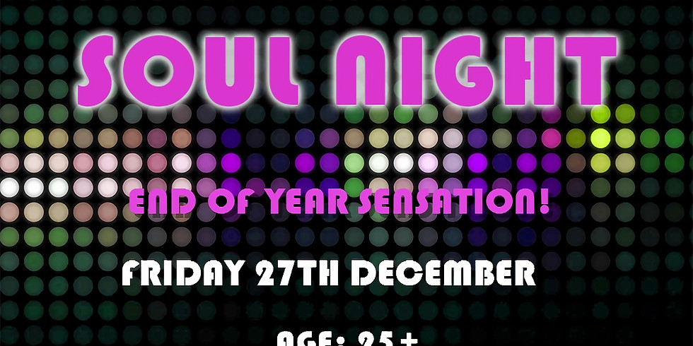 End of Year Soul Night