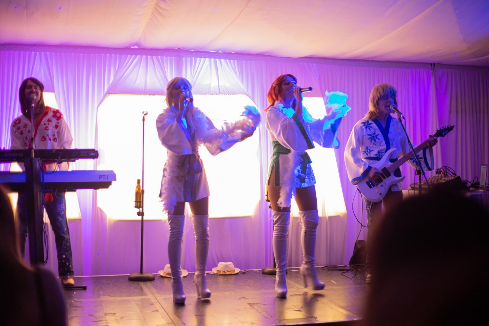 ABBA Chique tribute night
