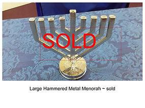 Hammered Metal Chanukah Menorah.jpg