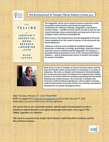 Brotherhood Event 2-11-21 Mark Gerson.jp