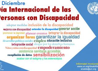 Día Internacional de las Personas con Discapacidad, 3 de diciembre de 2017