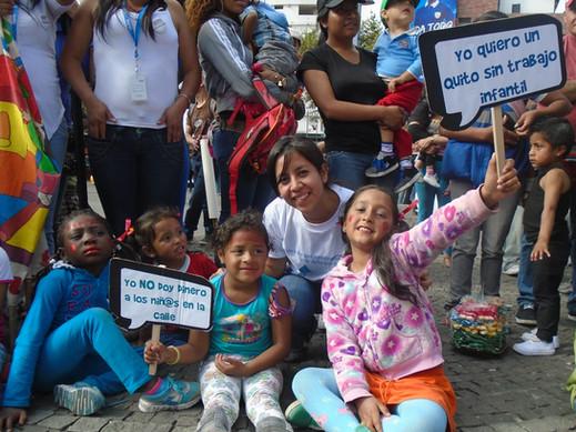 ECUADOR: Programa de prevención y erradicación del trabajo infantil