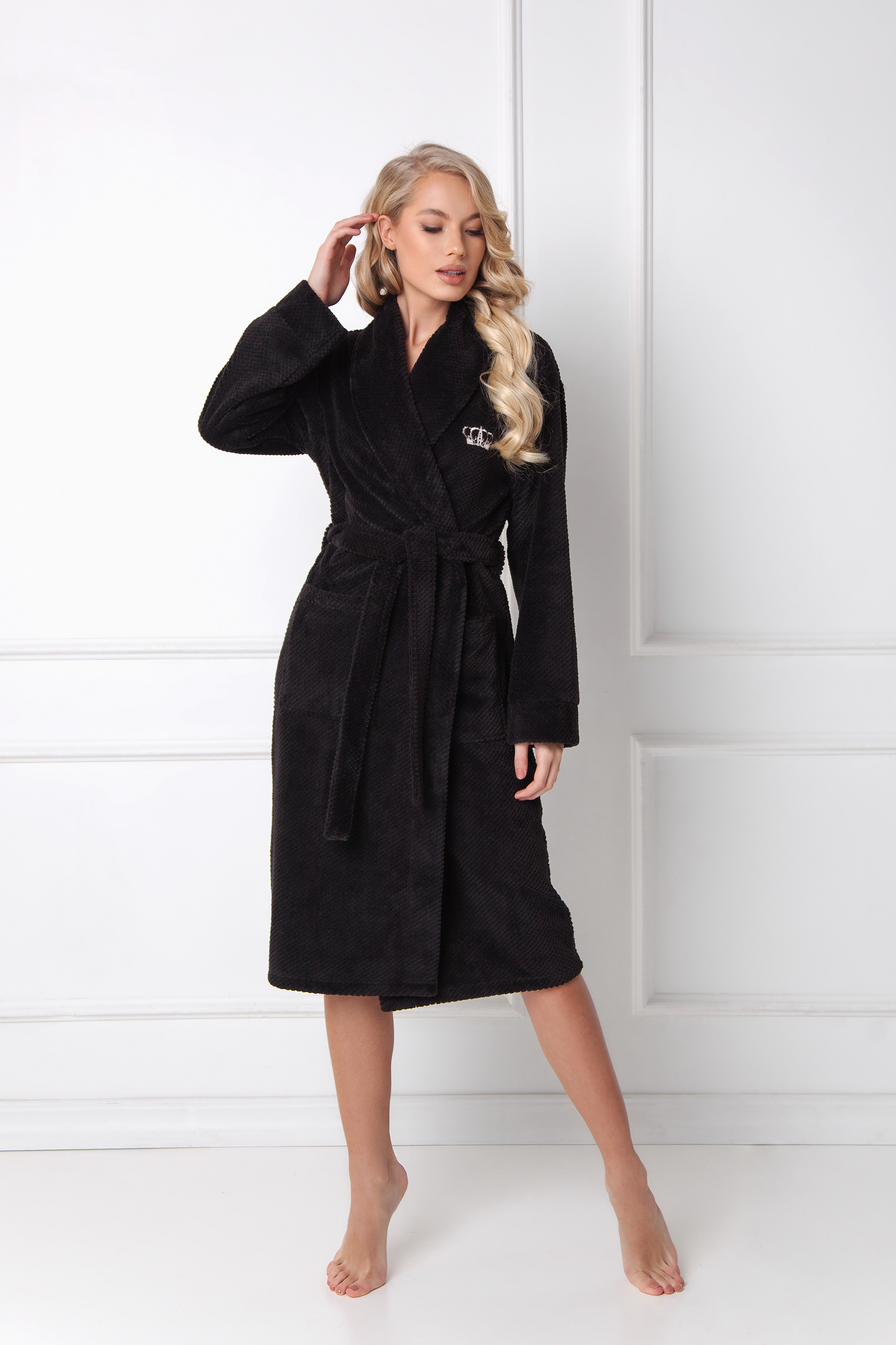 Kate bathrobe black