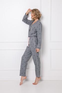 Elaine pajama long side