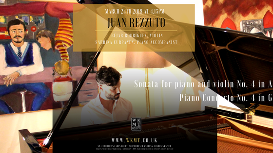 Classical piano concert by Juan Rezzuto
