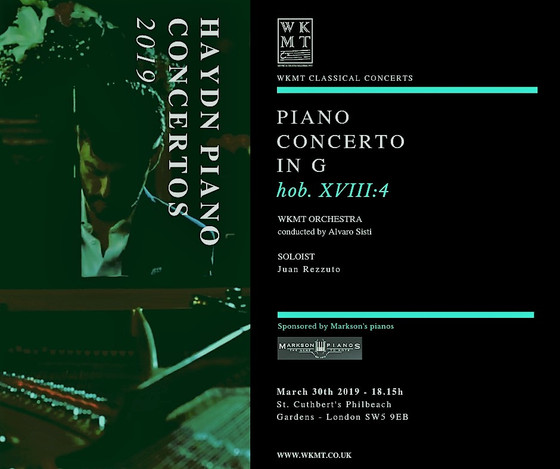 Myself playing this March in a concert in London