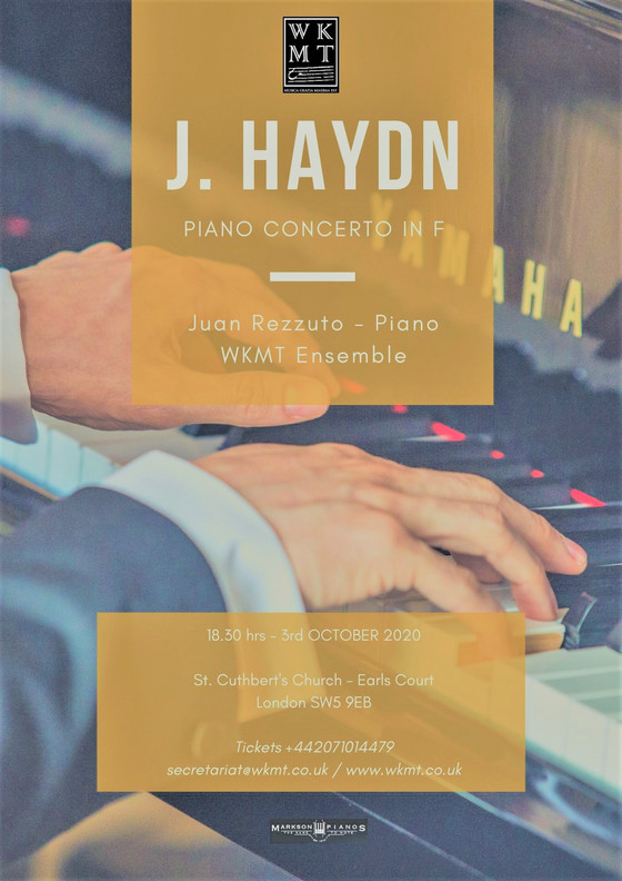 Haydn In London by Juan Rezzuto