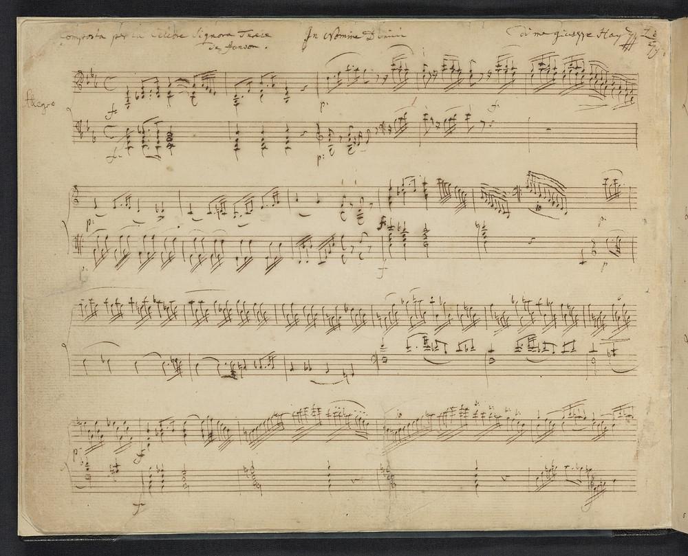 Revising Harmony - Piano Sonata Analysis